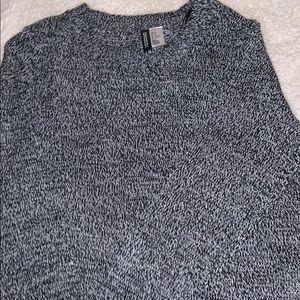 black/white sweater